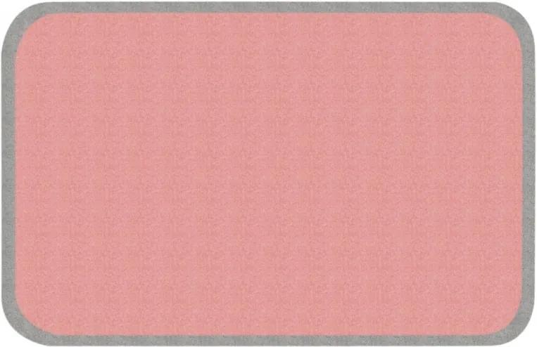 Zala Living - Hanse Home koberce Protiskluzový kusový koberec Niños 103087 Grau-Rosa 67x120 cm - 67x120 cm