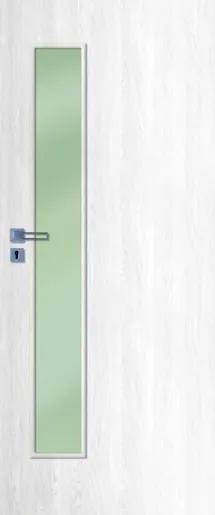 Interiérové dvere Naturel Deca ľavé 70 cm borovica biela DECA10BB70L