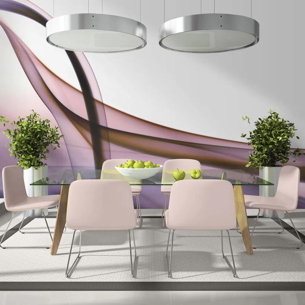 Fototapeta - Photo wallpaper – Purple abstraction 200x154