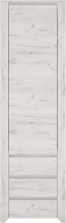 Skriňa typ 10, biela craft, ANGEL
