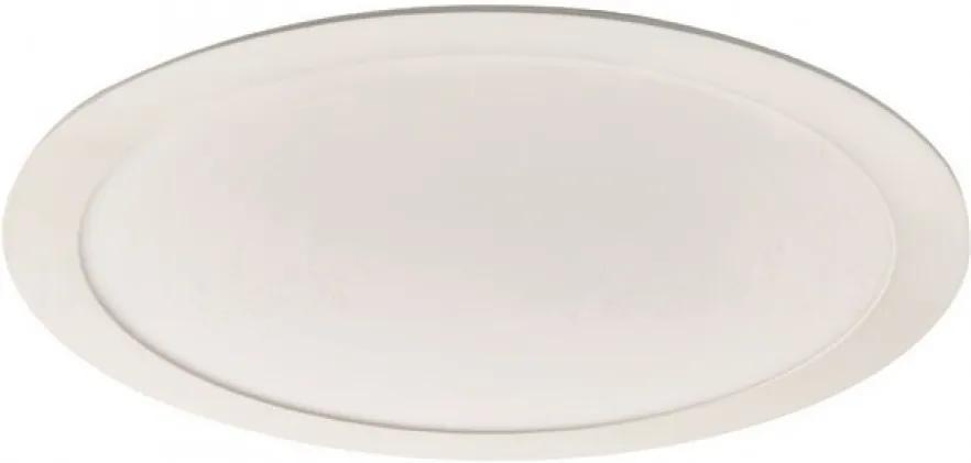 Kanlux 25845 Zápustné Svietidlá do Sadrokartónu Rounda biely hliník LED - 1 x 24W 1600lm 3000K IP20