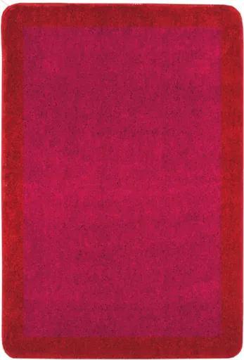 Kúpeľňová predložka Optima 90x60 cm červená PRED013