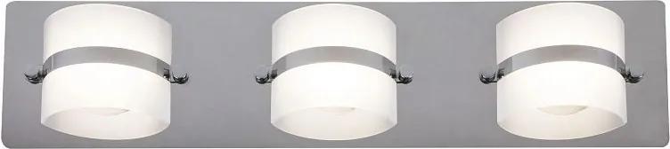 RABALUX 5491 Tony kúpeľňové sviet. zabud.LED 3x5W chróm IP44 4000K