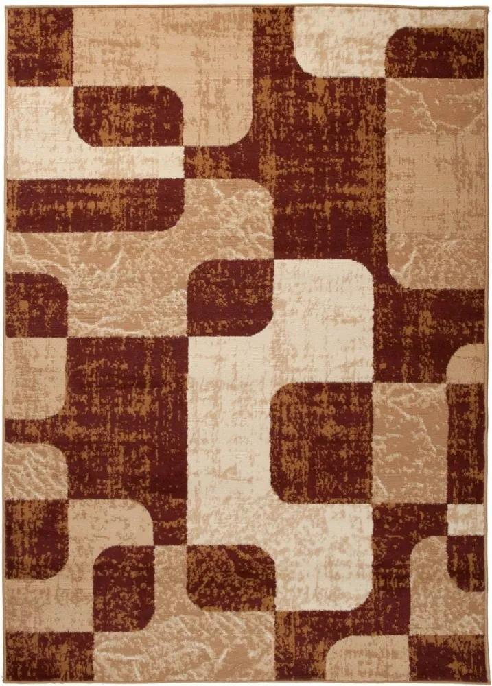 Kusový koberec PP Jona hnedý, Velikosti 130x190cm