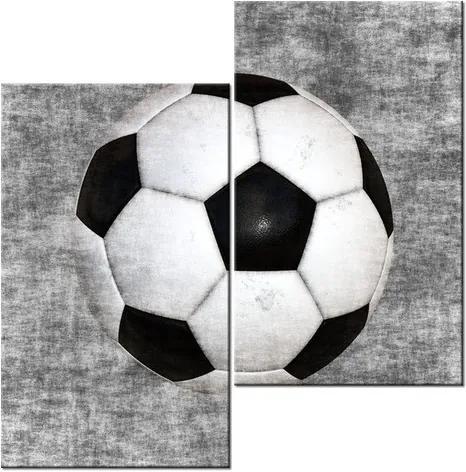 Tlačený obraz Futbalová lopta 60x60cm 1437A_2J