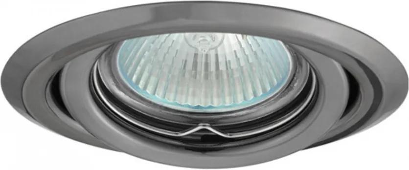 Kanlux Argus 334 Zápustné Bodové Svetlá grafit hliník 1 x MR16 max. 50W IP20