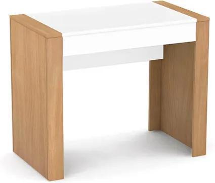 DREVONA Písací stolík pod PC bukový REA JAMIE