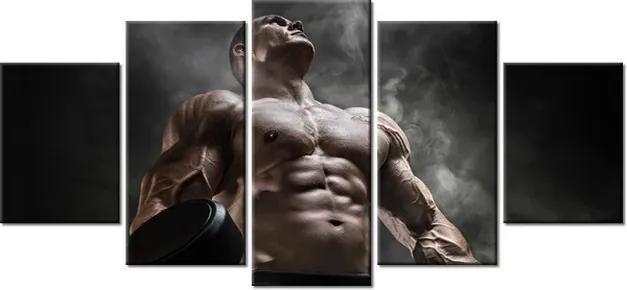 Tlačený obraz Silný bodybuilder 150x70cm 2427A_5B