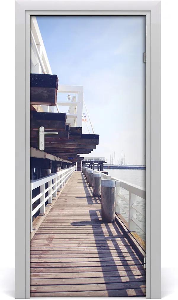 Fototapeta samolepiace na dvere  mólo Sopot
