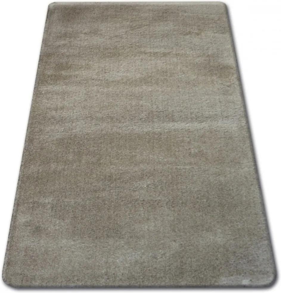 Luxusný kusový koberec Shaggy Azra béžový, Velikosti 80x150cm