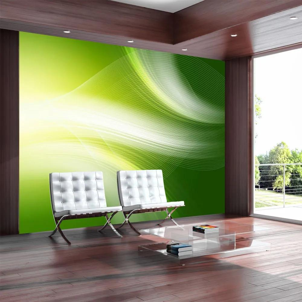 Fototapeta - Green abstract background 200x154