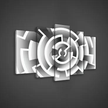Obraz na plátne viacdielny - OB3668 - Labyrint 100cm x 60cm - S17