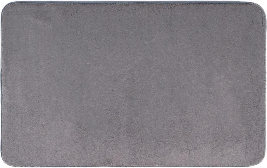 BO-MA Trading Kúpeľňová predložka Carol tmavosivá, 50 x 80 cm