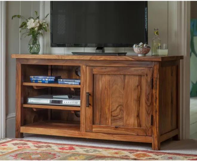 TV stolík Rami 110x60x50 indický masív palisander, Only stain
