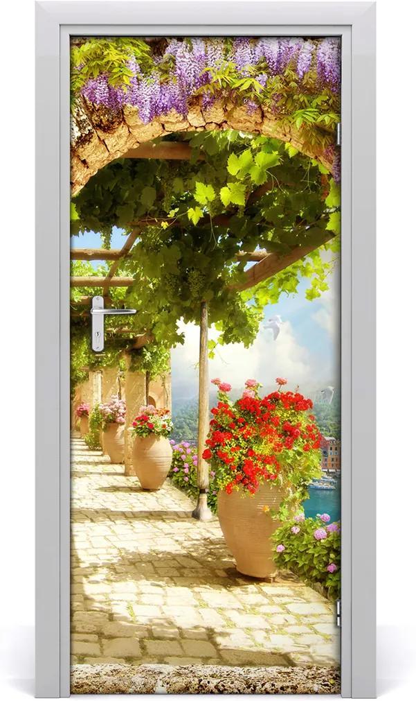 Fototapeta samolepící na dveře Digitální freska