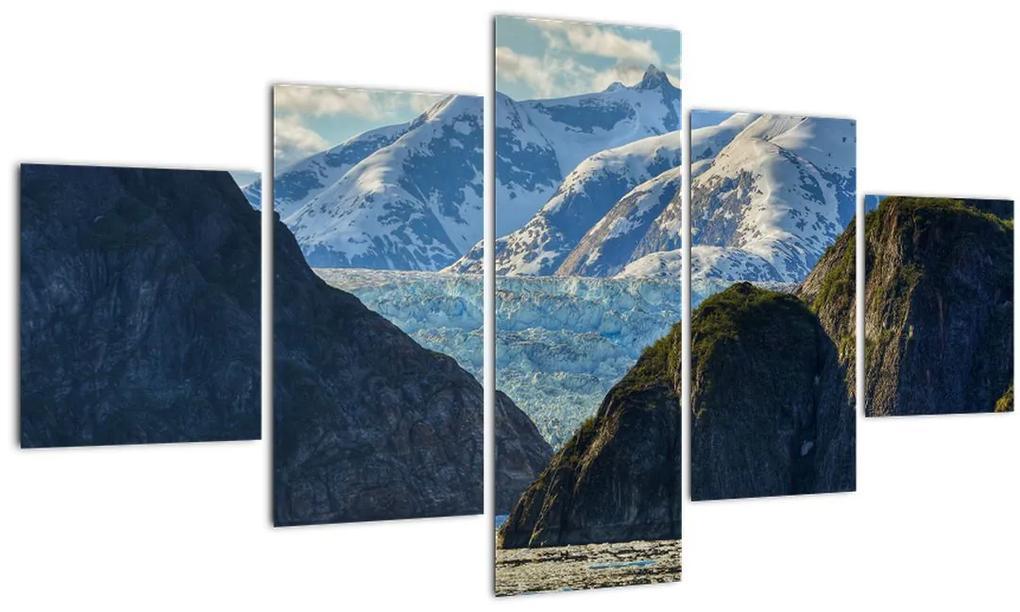 Obraz krajiny s horami (125x70 cm), 40 ďalších rozmerov