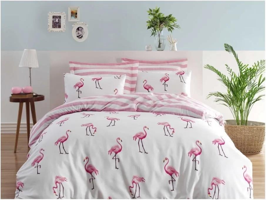 Obliečky s plachtou na dvojlôžko Permento Rasha, 200 × 220 cm