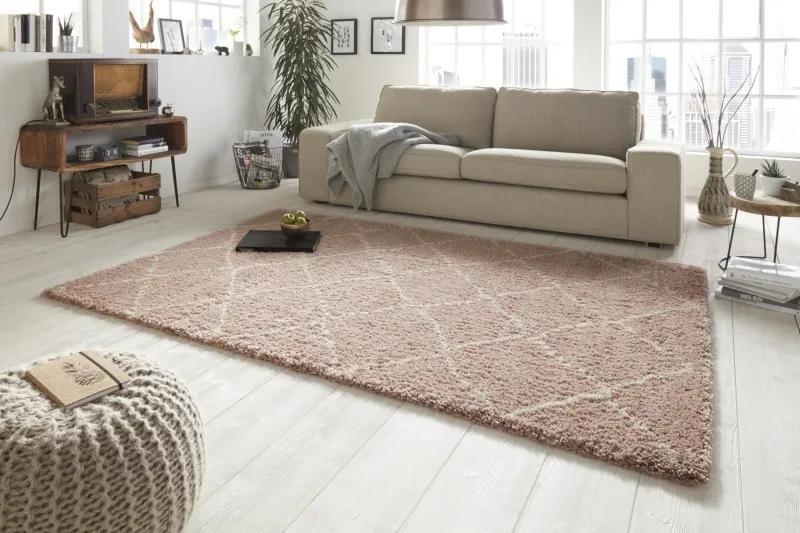 Mint Rugs - Hanse Home koberce Kusový koberec Allure 102750 rosa creme - 80x150 cm