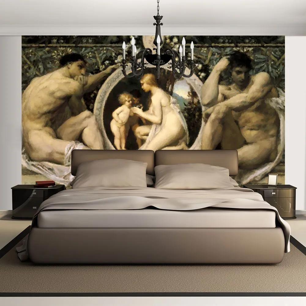 Fototapeta - Idyll - Gustav Klimt 200x154