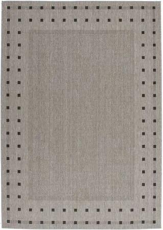 Lalee koberce Kusový koberec Finca FIN 520 Silver - 60x110 cm
