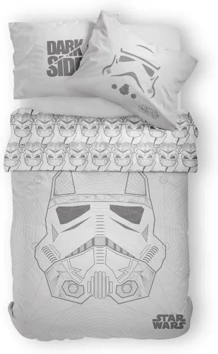 Detské obliečky Star Wars sivé