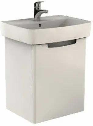 Kúpeľňová skrinka pod umývadlo KOLO Rekord 51,5x59,1x41,2 cm biela lesk 89545000