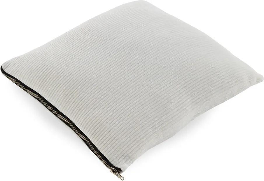 Biely vankúš Geeso Soft, 45 × 45 cm