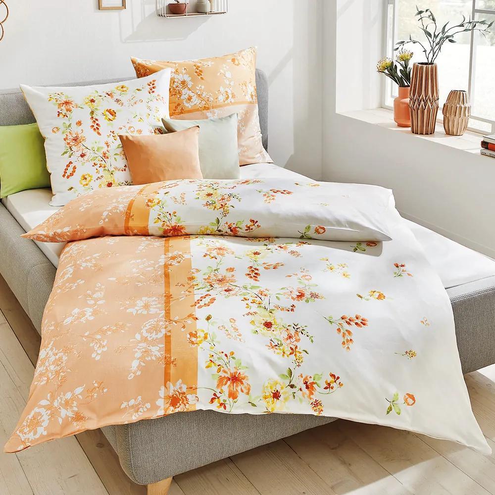 Obliečky Felicia oranžová