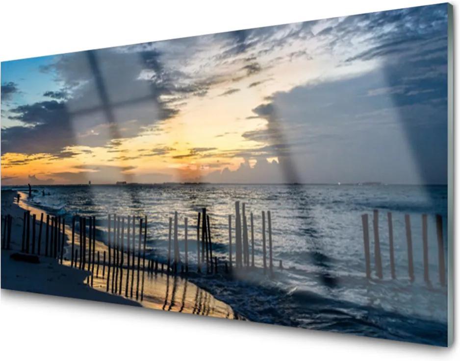 Obraz na skle More Pláž Príroda
