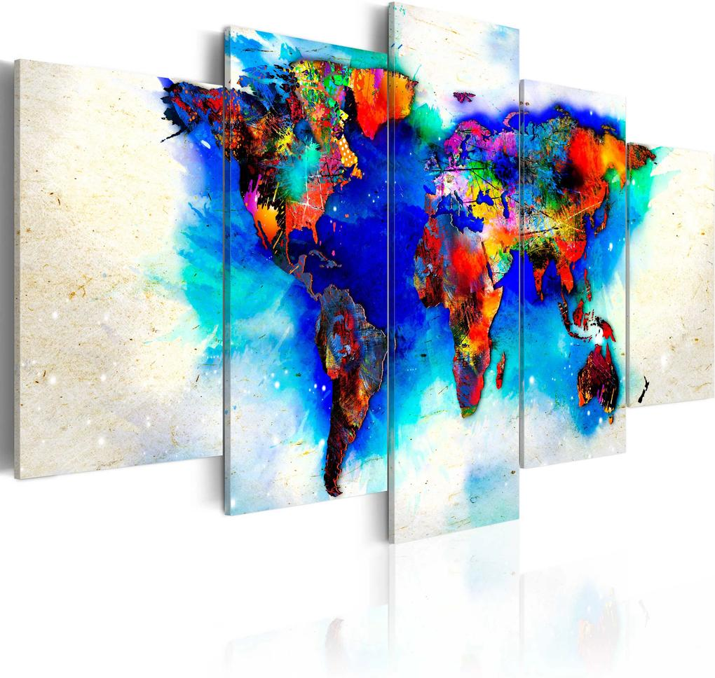 Obraz - All colors of the world 100x50