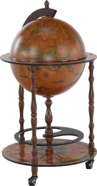 Barový servírovací stolík, čerešňa, GLOBUS 2-324
