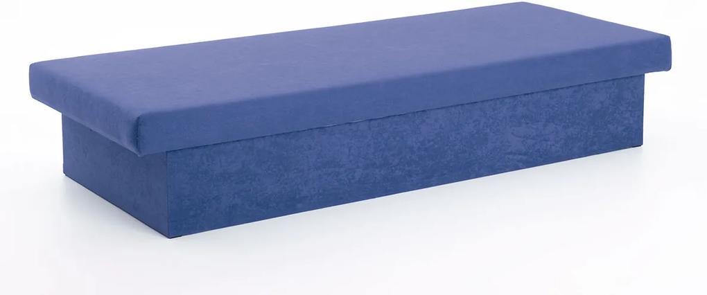 DREVONA Váľanda molitanová modrá JANA, Vento X9 Cobalt, 195x80