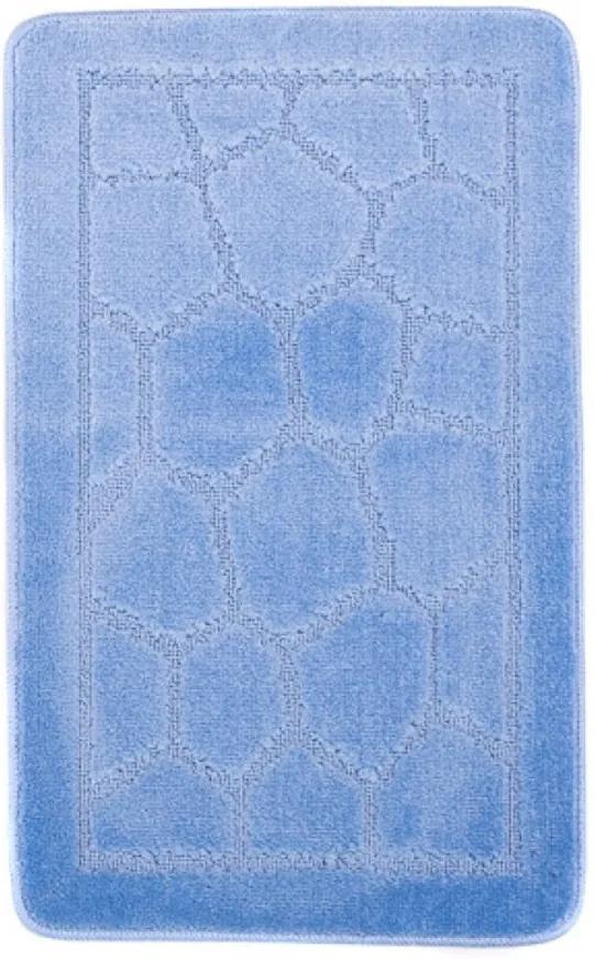 Kúpeľňová predložka 1147 modrá, Velikosti 50x80cm
