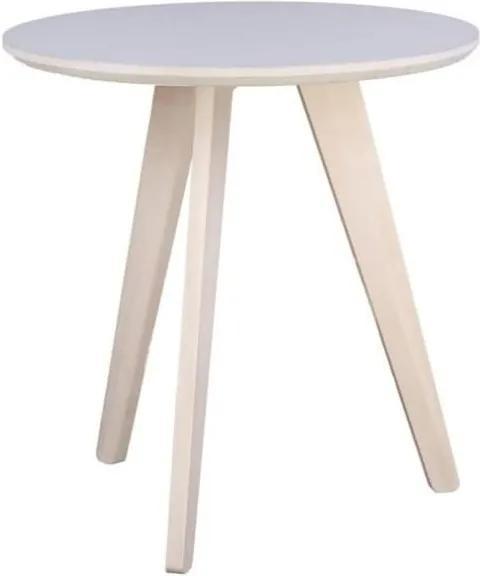 Konferenční stolek Blake 53 cm, bílá 105077 CULTY