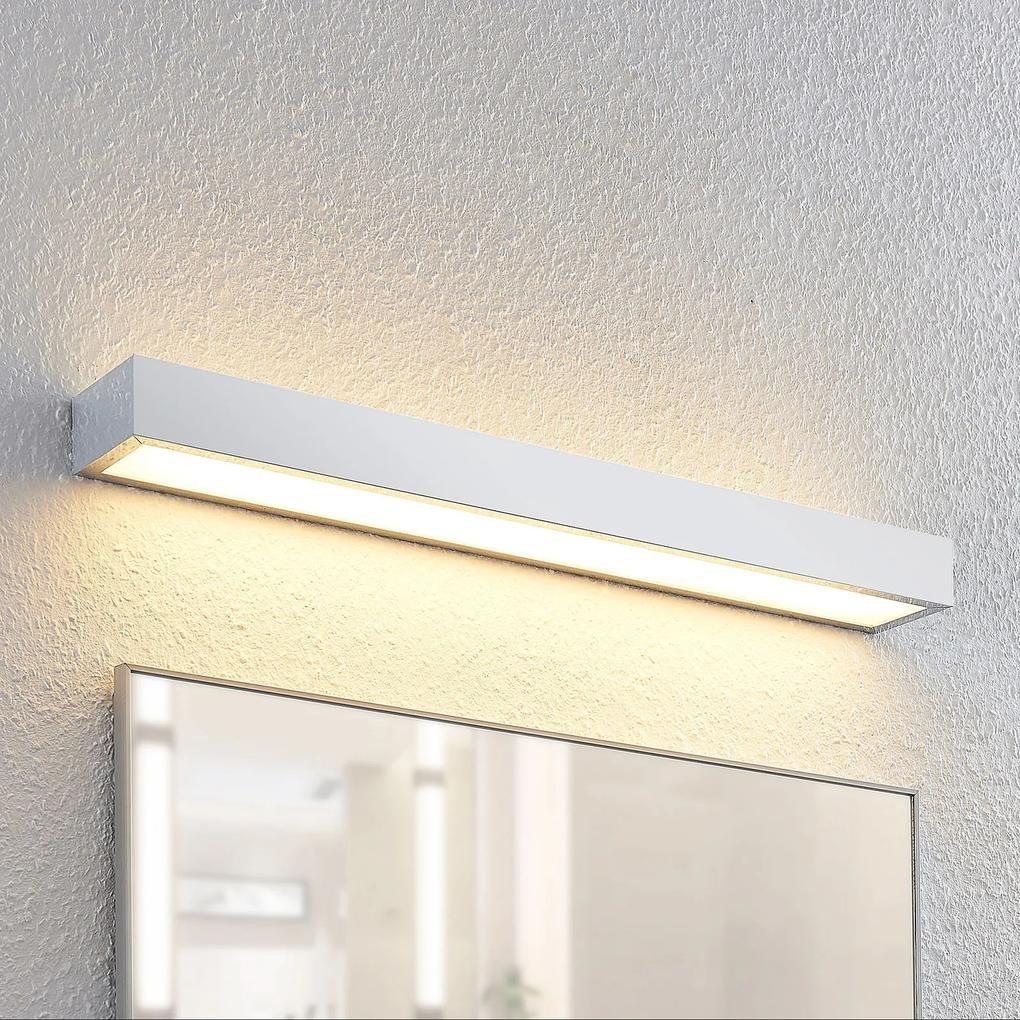 Lindby Layan kúpeľňová nástenná LED, chróm, 60 cm