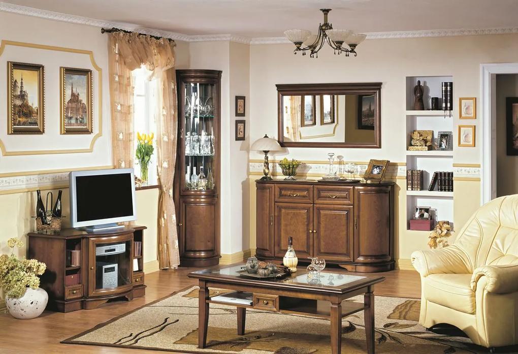 TARANKO Zefir rustikálna obývacia izba toffi