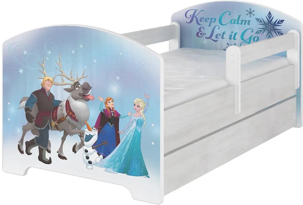 DO Frozen detská posteľ Disney 140x70