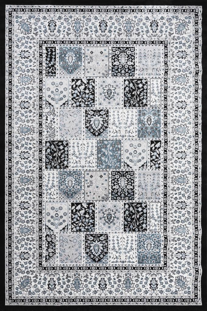 Festival koberce Kusový koberec Silkway 4241A Blue - 80x150 cm