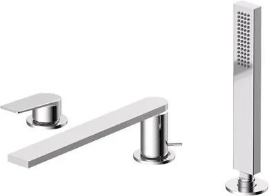 TRES - Jednopáková stojanková vaňová batéria Sprcha, proti usa. vôd. kameňa (202.639.01). · Prietok: 3 bar - 13 l / m · Kompatibilné so sadou nádrže ref. č .: 200.245.01. · POZNÁMKA: pozri dĺžka ramienka (21116103)