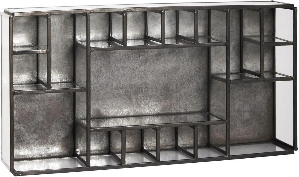 IB LAURSEN Úložný box s priehradkami Black Factory