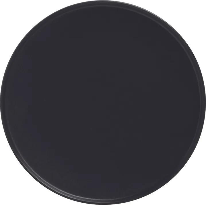 Maxwell&Williams Porcelánový dezertní talíř s vyšším okrajem CAVIAR 21 cm černý