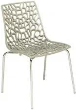Jídelní židle Coral-D (Béžová) SC04 Sit & be