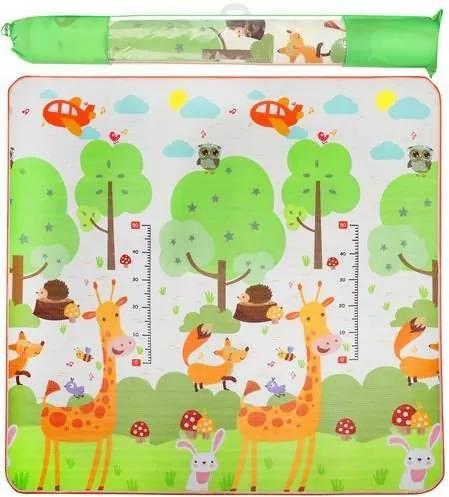 ISO Hracia penová podložka pre deti Žirafa 180 x 180 cm, 9104