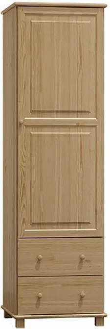 AMI nábytok skříň 1Dč4 borovice věšák