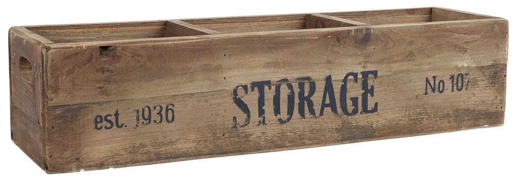 IB LAURSEN Úložný drevený box Storage