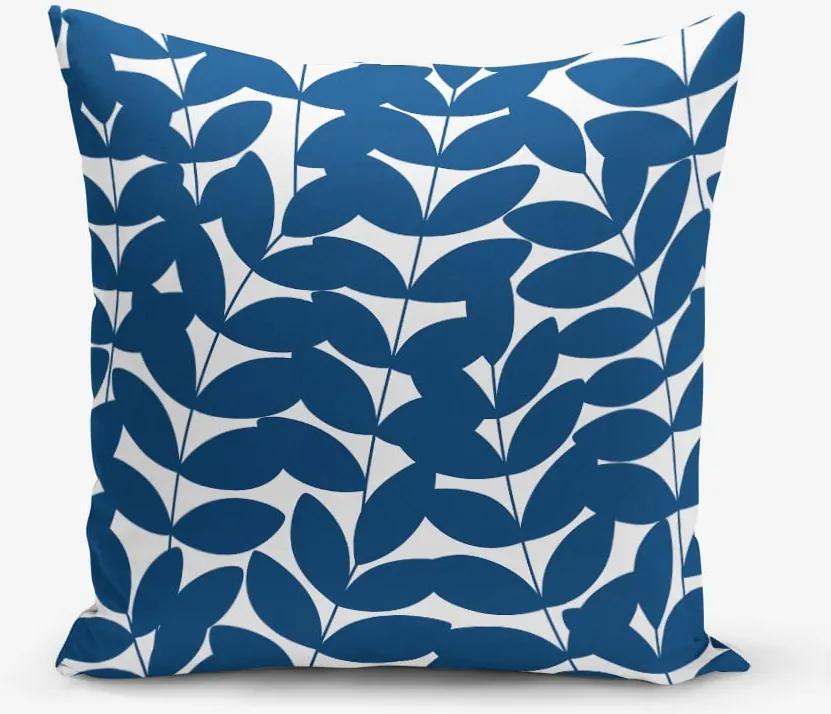 Obliečka na vankúš s prímesou bavlny Minimalist Cushion Covers Leafy, 45 × 45 cm