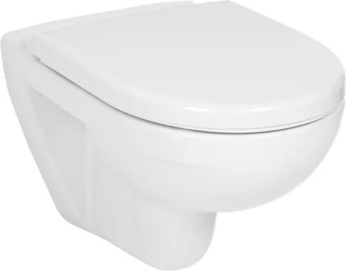 Závesné WC Jika Lyra plus, zadný odpad, 53cm H8233800000001
