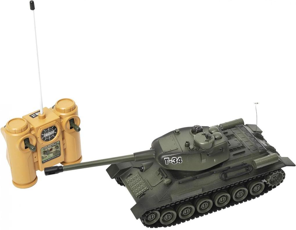 Mac Toys Tank na diaľkové ovládanie - T34