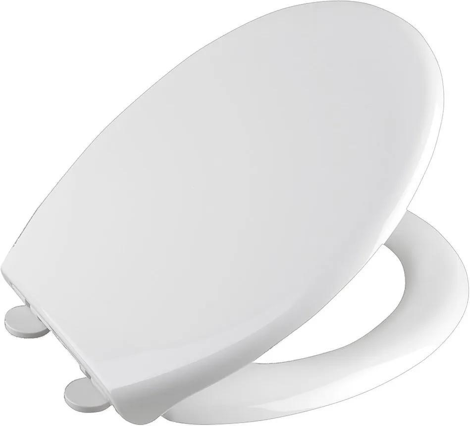 Sofia BS122 WC sedátko, Soft Close, polypropylén, biele