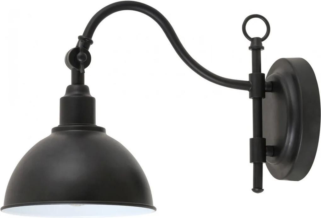 RABALUX 2273 Marc nástenné svietidlo E27 1x25W čierna